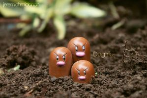 Poke-Shoot : Dugtrio by MayaIdanan
