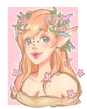 ~Sketch Bust Commission~ by Desuthis