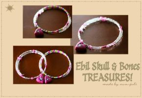 Ebil Skull 'N Bones Treasures by aunjuli