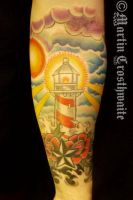 Lighthouse Tattoo by mxw8