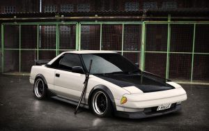 Toyota MR2 by wallla