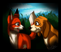 We'll Always Be Friends Forever, Won't We? by ScottishRedWolf