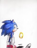 Sonic and ring by poppin7581