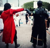 Truce between King of Vampires and God of Mischief by DARKPRINCE86