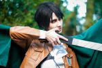 Levi - Attack on Titan by Pandora-Hazel