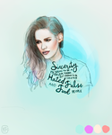 kristen stewart (requested drawing) by crystalinas