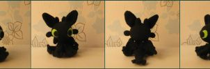 Toothless,with link to pattern by Yuki87