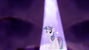 My second wallpaper of Twilight Sparkle. by Flutterflyraptor