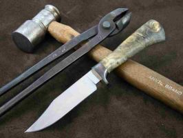 Forged Hunter by NobleKnives
