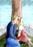 Week 2: Hetalia - First Kiss? by katwarrior