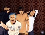 Red Hot Chili Peppers by 5-tab