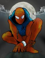 Scarlet Spider by commanderlewis