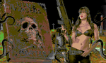 She versus The Necronomicon Commodore64 style by EscribaRegio