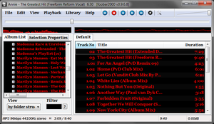 Foobar2000 screen capture by shle896