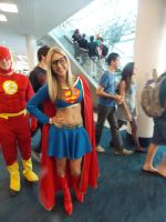 Supergirl...(with glasses) by Dronzer19