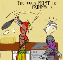 The Eggs Must Be Runny! by Lucinvampire