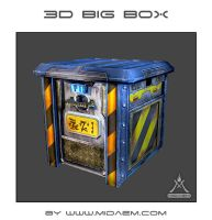 3D Big Box + 3D video TurnAround by mizukoiuchi