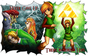 A Link to the Victory by HyliaBeilschmidt