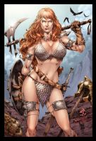 Commission Red Sonja by MARCIOABREU7
