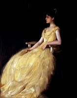 Lady in Yellow by JusDrewIt
