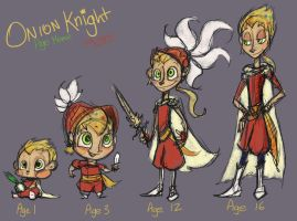 Age Sketches: Onion Knight by Alias-Hugo