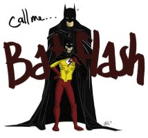 Dananana... Batflash! by xrockinrobin