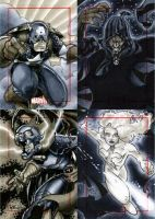 Marvel 70th Sketch Cards -d by RichardCox