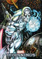 Silver Surfer by DKuang