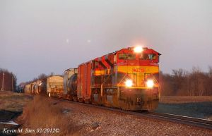 KCS 4117 and KCS 4042 lead UP MCHPB 18 by EternalFlame1891