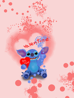 Stitches Valentine wish by teddybearcholla