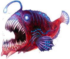 Anglerfish by Corbella