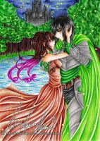 :. Hymniia Commission - Dancing Night .: by HokoriCupcake