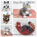 Etsy Shop Open! by LeiliaClay