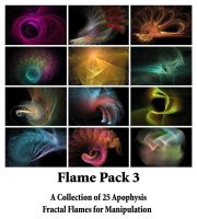 Sya's Flame Pack 3 by Sya