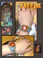 Witchblade bracelet by FrozenDreamer