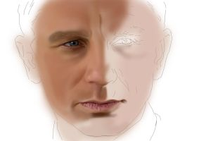 Daniel Craig by al-turnertive