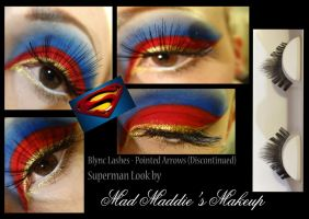 Superman by madmaddiesmakeup