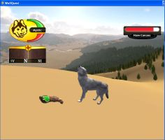 Wolf Quest by DrMario64