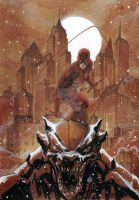 Snow fall Daredevil by Thegerjoos