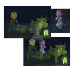 Screens and manipulation from Frozen by AgnessAngel