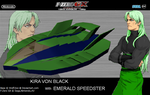 Emerald Speedster - F-ZERO GX Wallpaper by Kira-SR