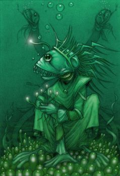 Deep One Queen by CopperAge