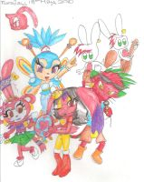 sidra and her groovy gang by sheezy93