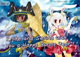 GnK - Happy Bunny Year 2011 by Kawaii-Dream