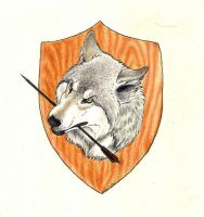 Wolf Pack Logo Colored by nikkiburr