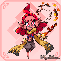 Mydhilde: Meet the Fire Weck by The-Knick