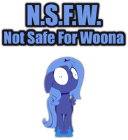 Not Safe For Woona by grievousfan