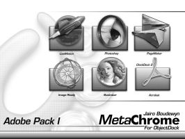 Metachrome Adobe Pack by weboso