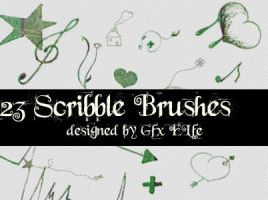 Scribble Brushes by gfx-elfe