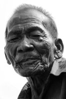 portrait old man by yosca
